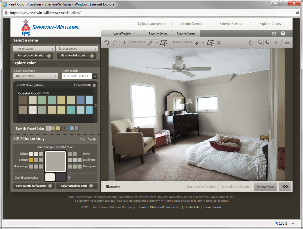 Paint Visualizer  Behr ownermanager