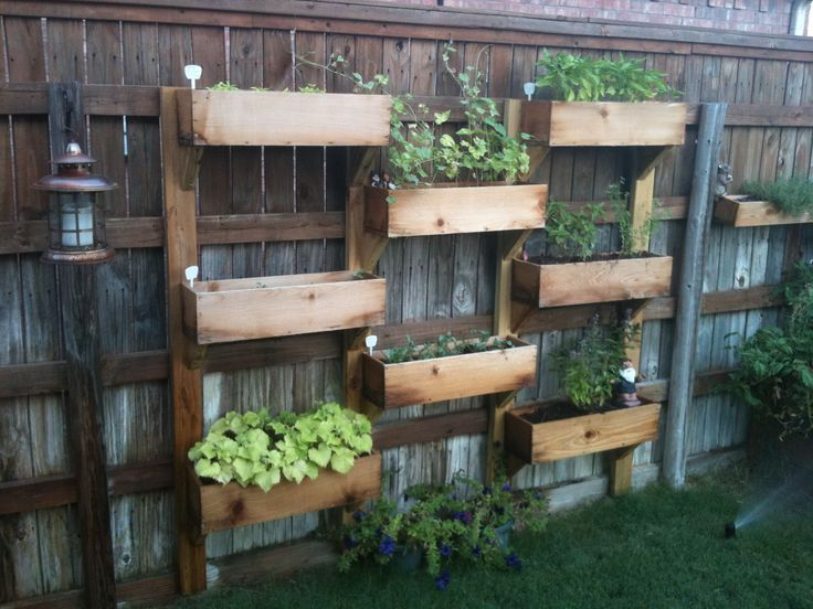 Vertical Fence Garden 2