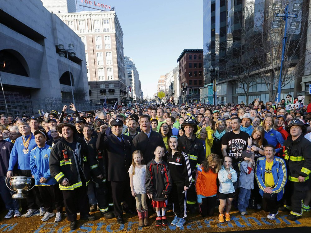 AP BOSTON MARATHON BOMBING PHOTO SHOOT A S RUN ATH USA MA